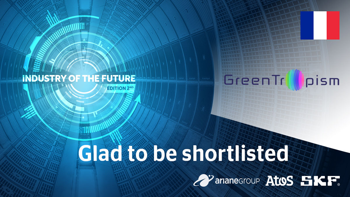GreenTropism winner of the Industry of the Future Challenge